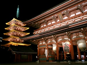 Tokyo,Asakusa-Traditional Japanese sytle hotel